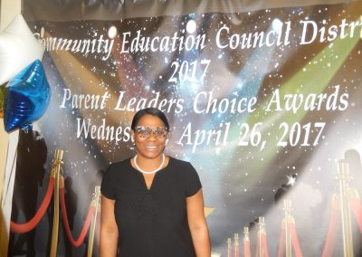 Sanayi at the CEC5 Parent Leaders Choice Awards